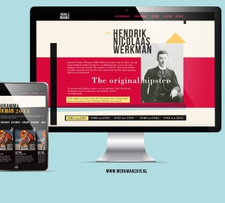 Werkman website presentatie